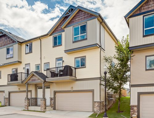 Kincora Townhome Backing Onto Greenspace